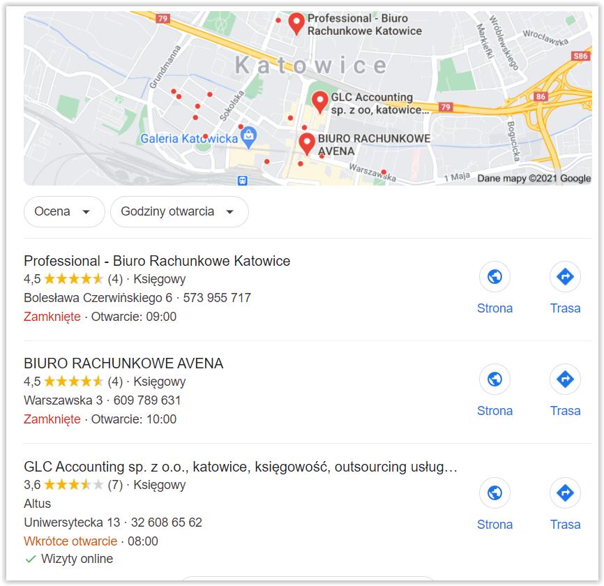 google maps lokalizacja